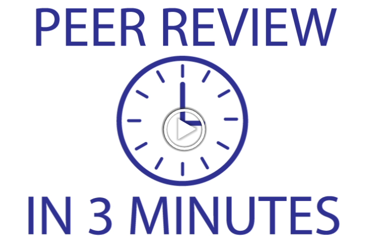 Peer-Review in 3 Minutes
