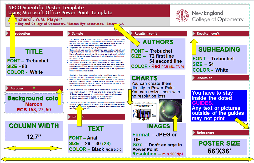 posters - faculty library services - neco libguides at new england, Modern powerpoint