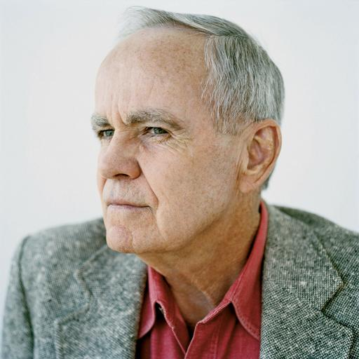 Author Corman McCarthy