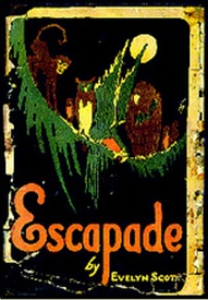 Front cover of Escapade, a novel by Evelyn Scott.