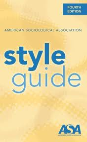 Book cover of style guide