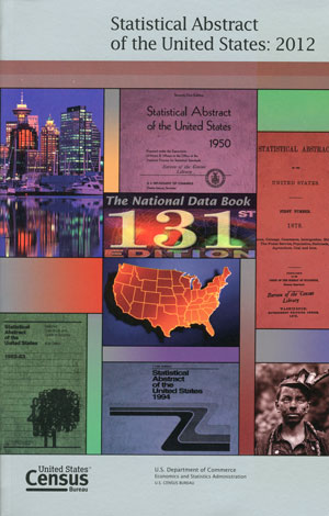 Cover of a volume of the statistical abstract