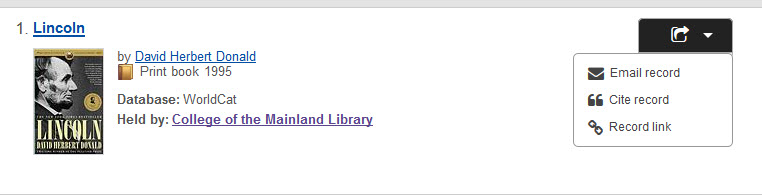 Q how do i get my apa citation from worldcat ask com library to cite a book through worldcat you will click on the title of the book to pull up the book detail then click on the arrow on the right side ccuart Choice Image