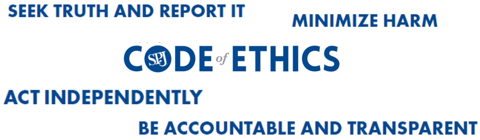 Four ethical principles for reporters