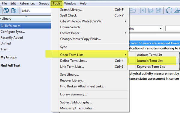 Format Your Bibliography - EndNote X8 - Research Guides at