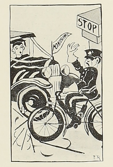 cartoon from The Font, 1930