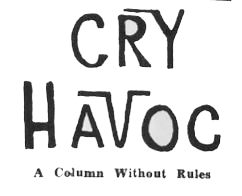 cry havoc logo