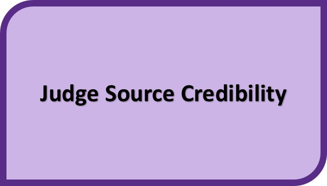 Judge Source Credibility