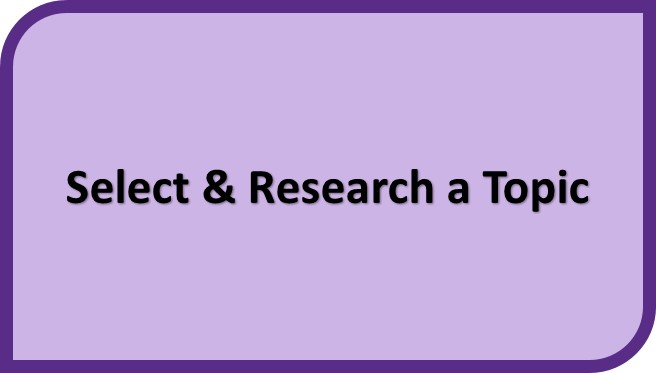 Select & Research a Topic