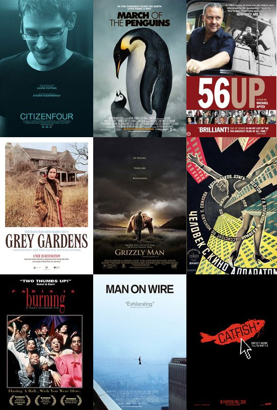 Select Documentary Films