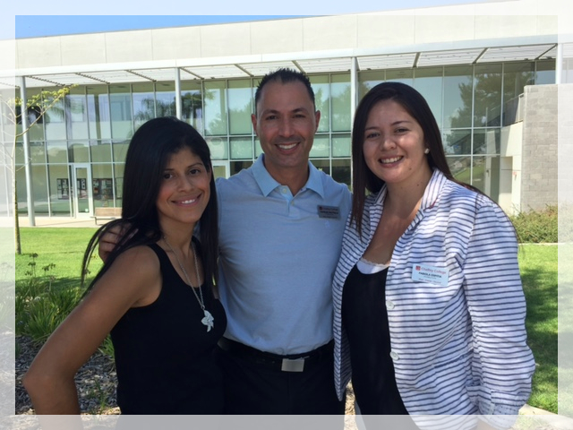 GPS Counselors (left-right): Michelle Martinez, Charles Prattella, Fabiola Espitia
