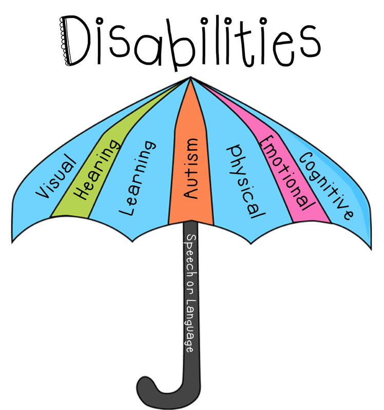 Disabilities umbrella image