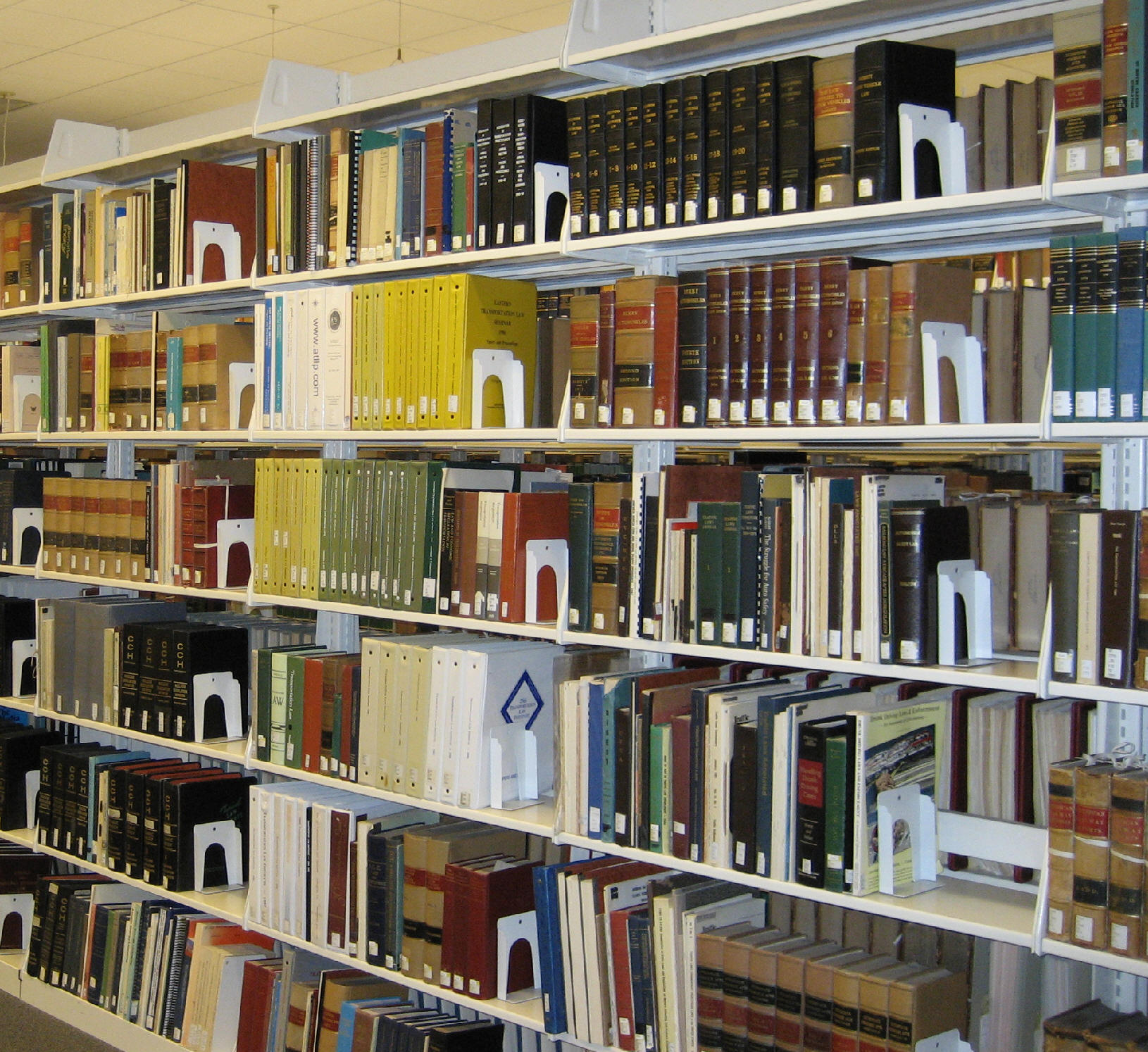 Books in the Gallagher Law Library