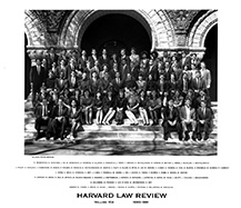Harvard Law Review editors 1990-91