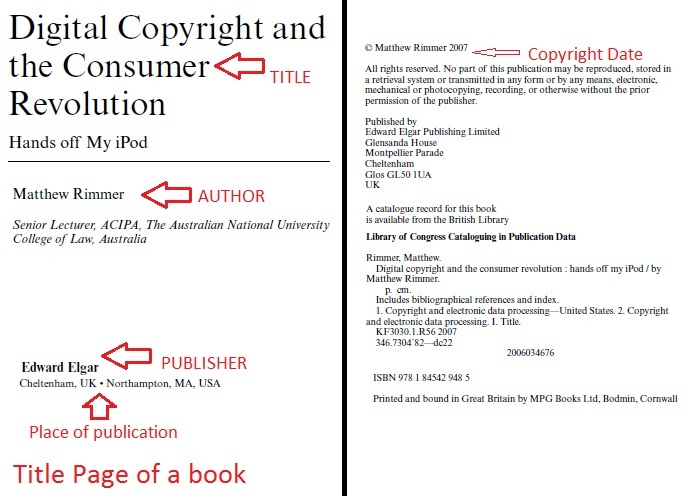 Three to five authors or editors apa citation style research see this example to help you locate a books place of publication publisher name and other info required for an apa citation ccuart
