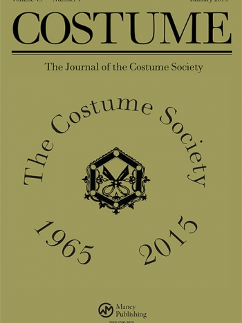 Cover of the Costume Journal