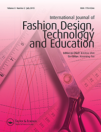 Cover of the International Journal of Fashion Design, Technology and Education