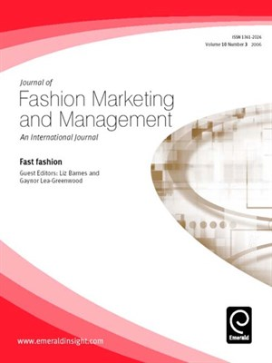 Cover of Journal of Fashion Marketing and Management