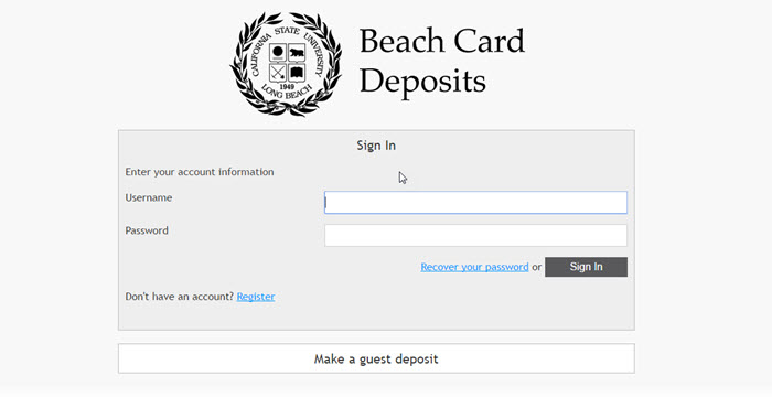 add value screen for beach id