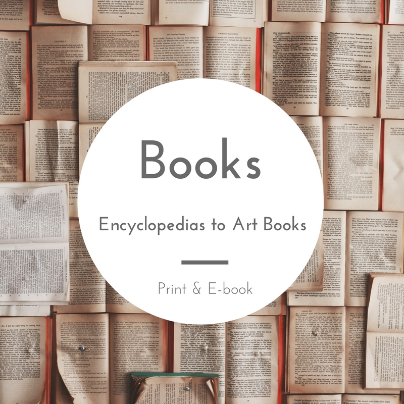 Books - Encyclopedia to Art Books