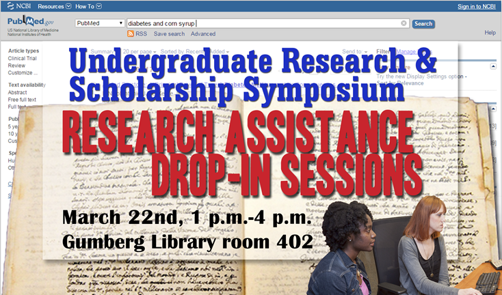 URSS drop-in sessions