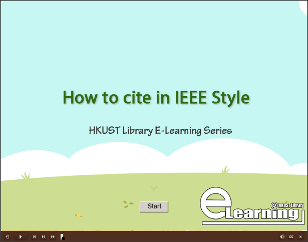 how to cite a video in text