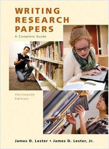 Writing Research Papers By James D. Lester; Jim D. Lester