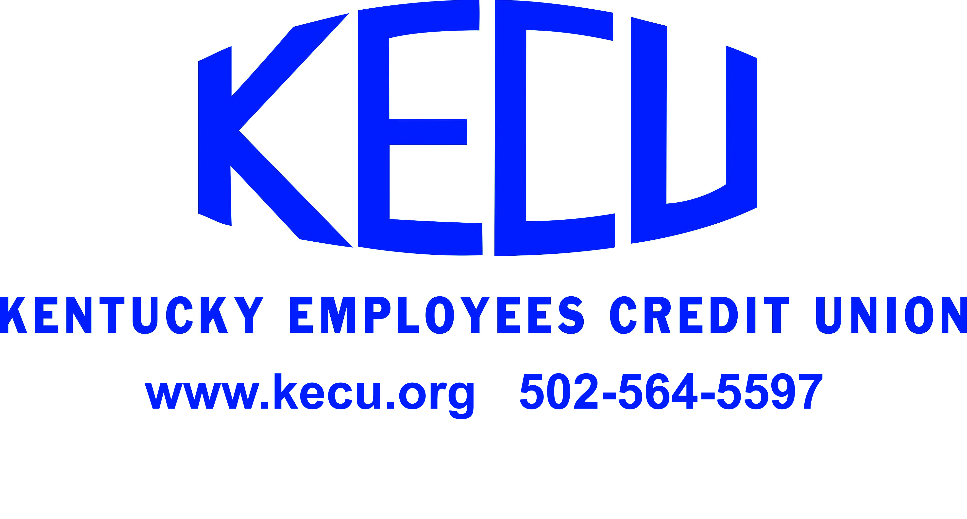 KECU logo, KENTUCKY EMPLOYEES CREDIT UNION, www.kecu.org, 502-564-5597