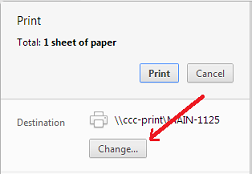 picture of the Google Mail print option that allows you to change the destination to pdf