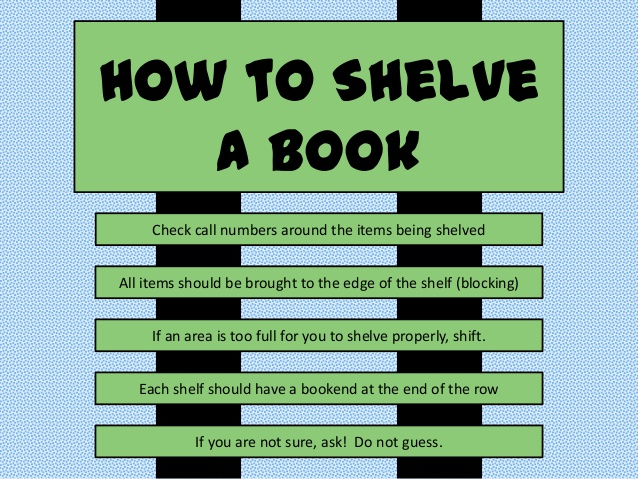 How to Shelve a Book