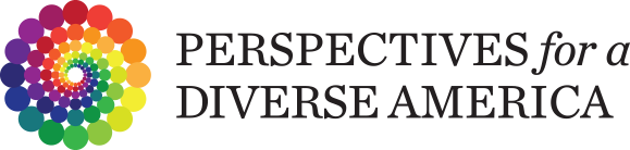 Perspectives for a Diverse America logo
