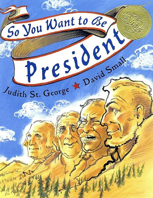So you want to be president  book cover
