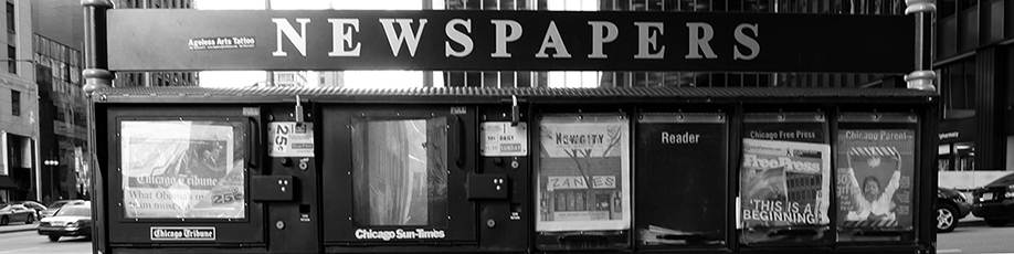 Picture of Newsstand in a City; photo by jayhay2336