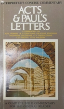 cover of Acts & Paul's Letters: A Commentary on Acts, Romans, I & II Corinthians, Galatians, Ephesians, Philippians, Colossians, I & II Thessalonians, I & II Timothy, Titus, Philemon
