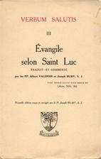 cover of Evangile Selon Saint Luc