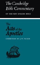cover of Acts of the Apostles: Commentary