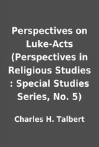 cover of Perspectives on Luke-Acts