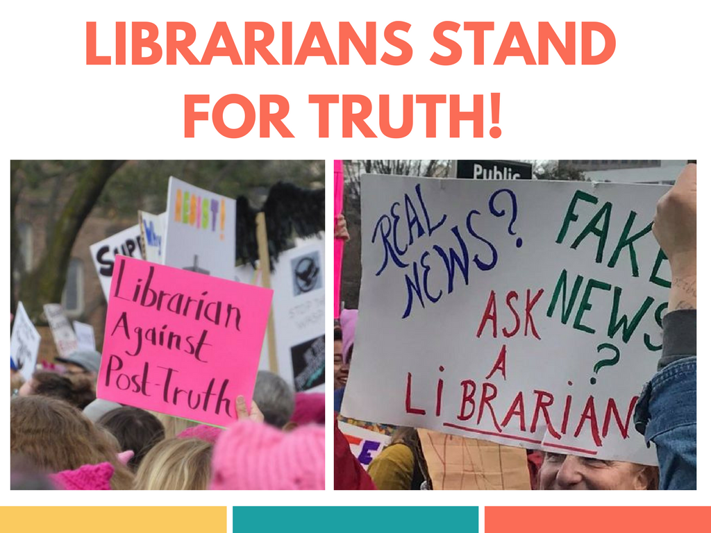 librarians stand for truth!