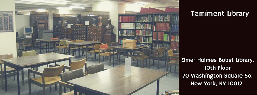 New York University Libraries - Library and Academic