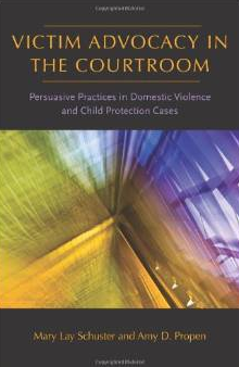 Cover image for the Victim Advocacy in the Courtroom book