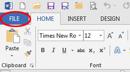 How I do convert a Microsoft Word document to PDF format? - Ask A Librarian