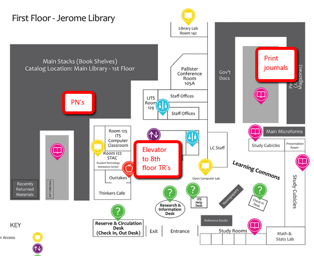 First Floor Map