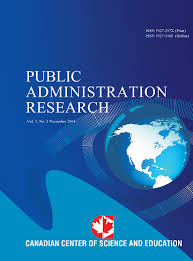 Public Administration Research Journal