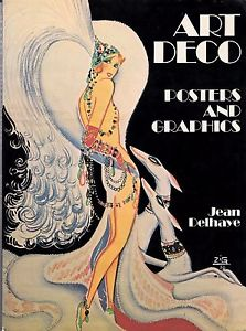 A book cover with an art deco style illustration of a woman wearing a dress and head pieace. The cover has white text on a black background.