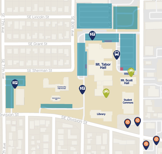 Portland Community College Sylvania Campus Map.List Of Synonyms And Antonyms Of The Word Pcc Map