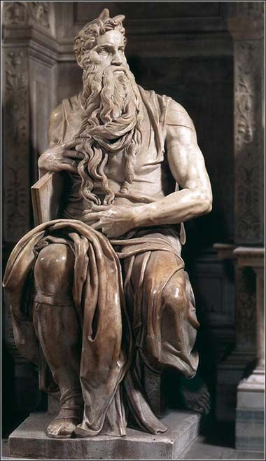 Michaelangelo Statue of Moses