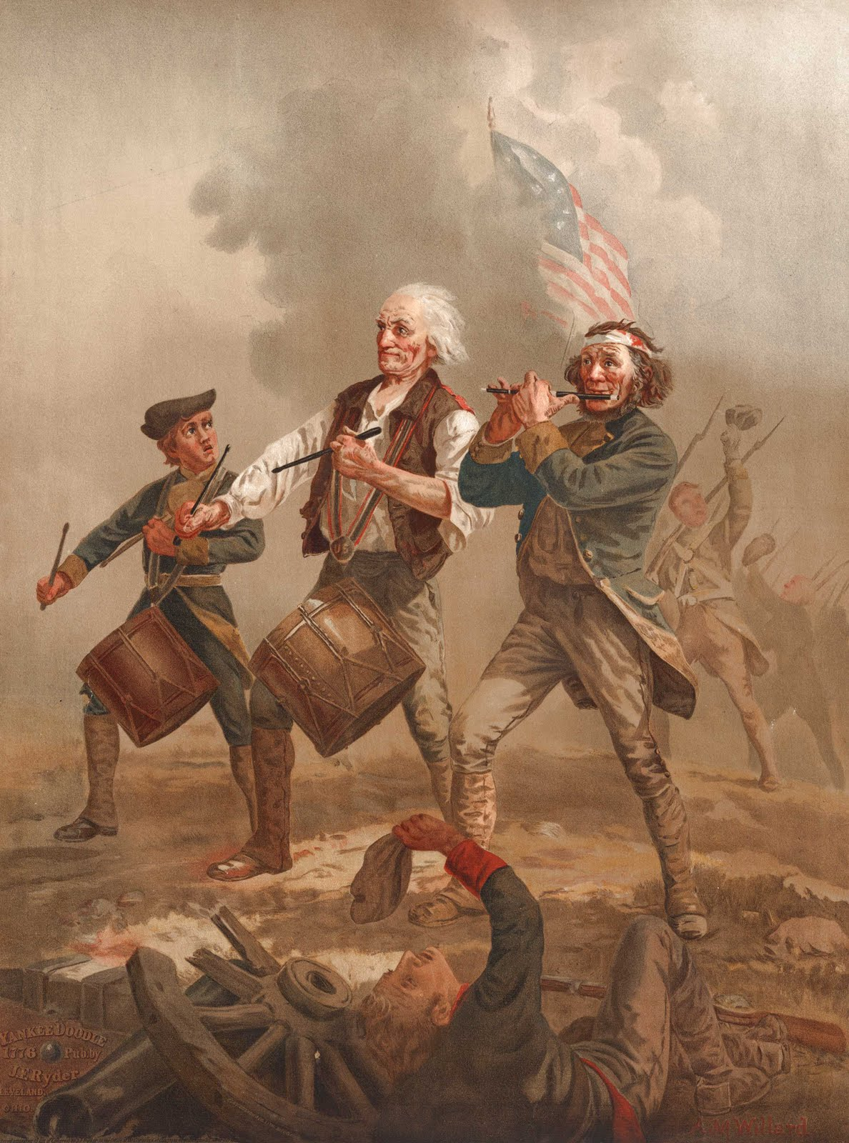 The Spirit of 76 aka Yankee Doodle by Archibald Willard