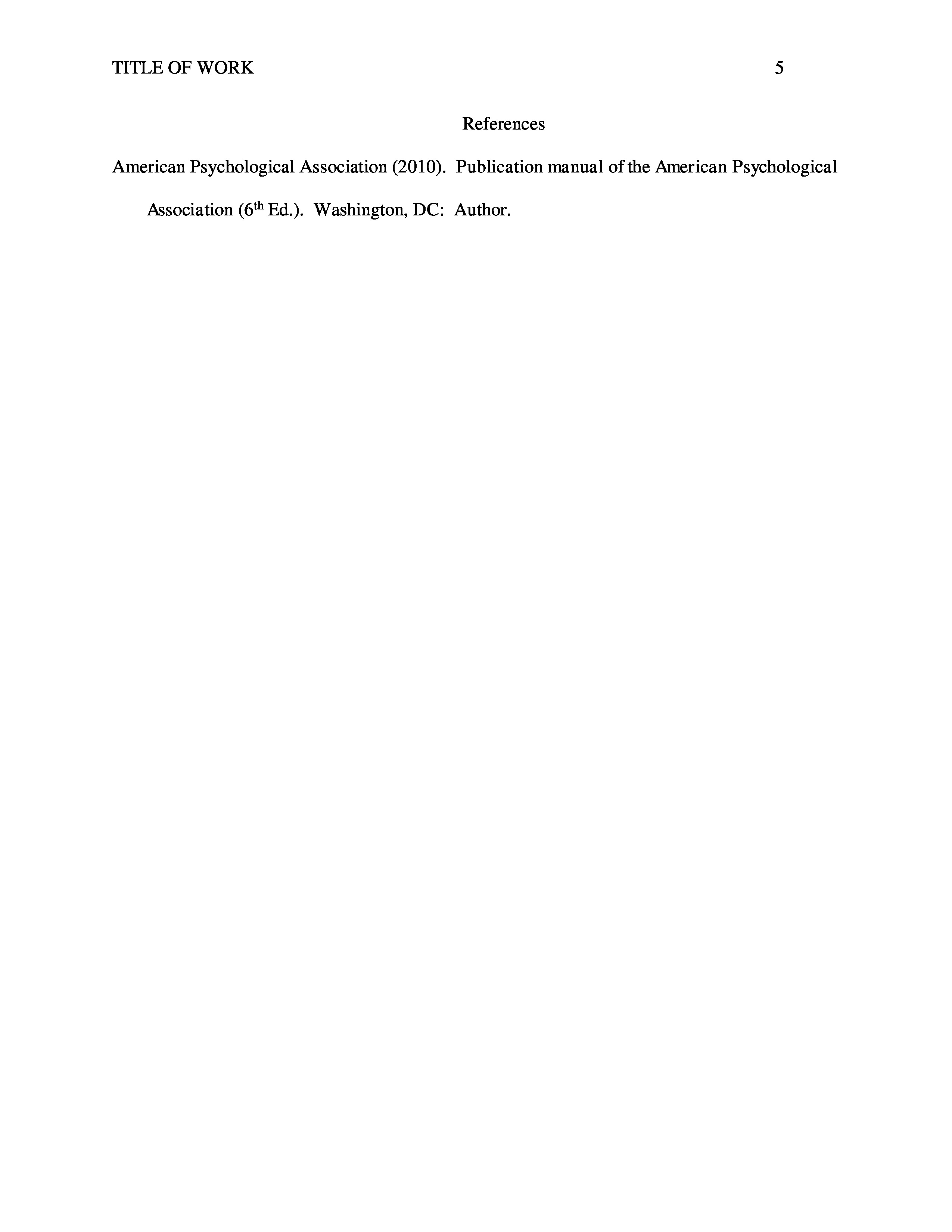 example of a scholarly paper in apa format