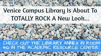 Have questions about Venice Campus Library's Summer Renovation?