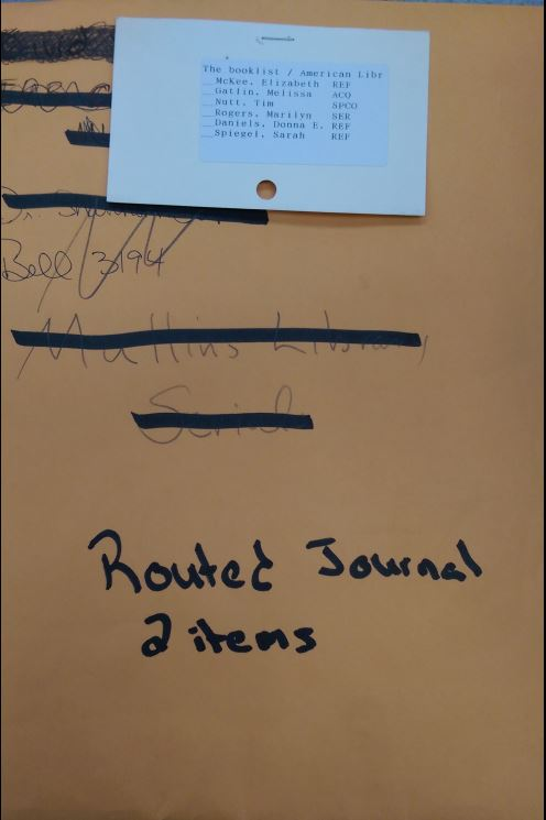 Routed journal multiple pieces